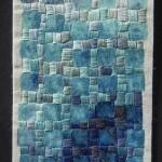 Tekstile billeder 27 Textile collage