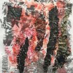 Tekstile billede 38 Textile collage
