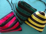 Bolsjeformede  lynlåstasker